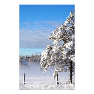 Winter Snow St Joseph Island Stationery