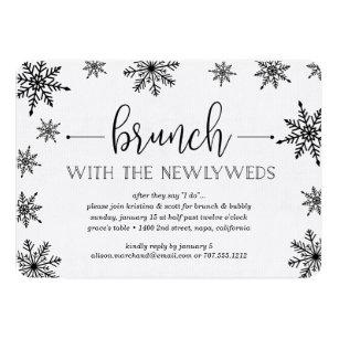 Post Brunch Wedding Invitations Stationery