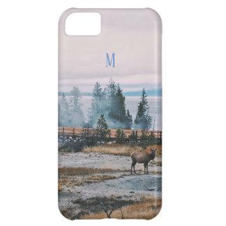 Winter Snowfall trees reindeer joy holidays Case-Mate iPhone Case