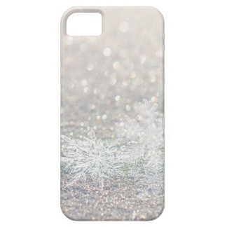 Winter Snowflake Bokeh Bling iPhone 5 Case