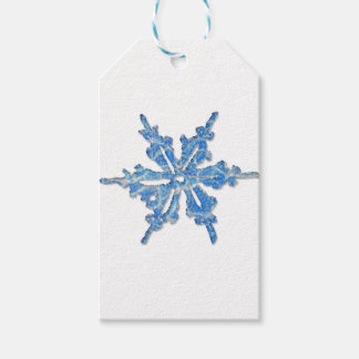 Winter Snowflake Design for Xmas 3 Pack Of Gift Tags