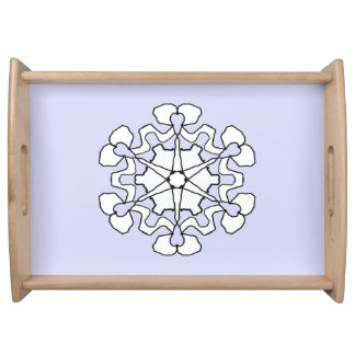 Winter Snowflake Serving Tray