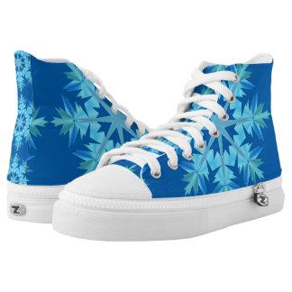 Winter Snowflake Starburst