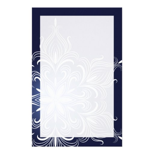 Winter Snowflake Stationery