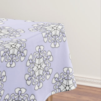Winter Snowflake Tablecloth