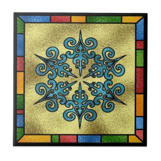 Winter Snowflake Tile Trivet