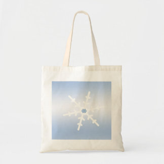 Winter Snowflake Tote Bag