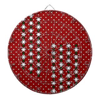 Winter Snowflakes Dartboard