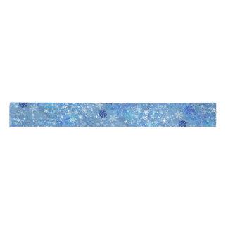 Winter Snowflakes Design Ribbon Satin Ribbon