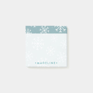Winter Snowflakes Post-it Notes