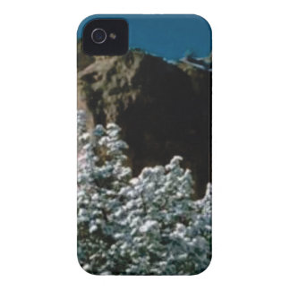 winter snows in the desert iPhone 4 case