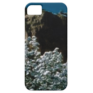 winter snows in the desert iPhone 5 cover