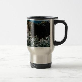 winter snows in the desert travel mug