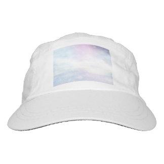 Winter snowy day background - 3D render Hat