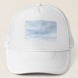 Winter snowy day background - 3D render Trucker Hat