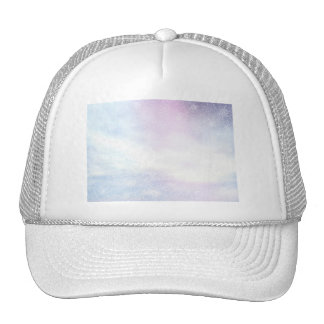 Winter snowy day background - 3D render Trucker Hat