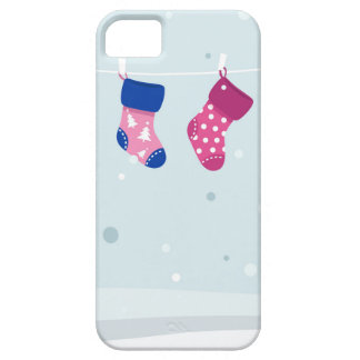 WINTER SOCKS handdrawn Illustrated edition Case For The iPhone 5