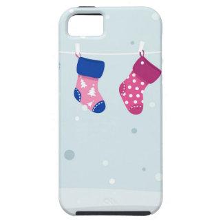 WINTER SOCKS handdrawn Illustrated edition iPhone 5 Case