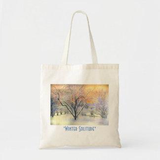 Winter Solitude Tote Bag