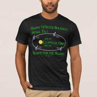Winter Solstice Axial Tilt T-Shirt