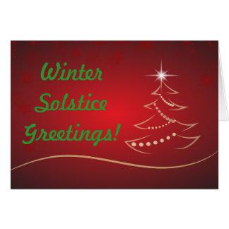 WINTER SOLSTICE GREETINGS CARD