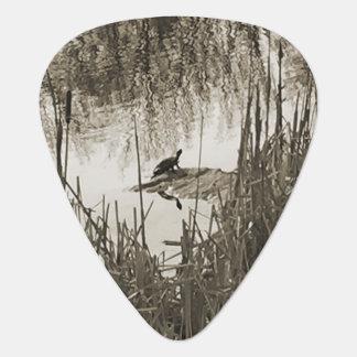 Winter Solstice Guitar Pick