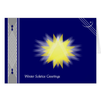 Winter Solstice I Card