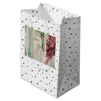 Winter Solstice Joy December Berries Medium Gift Bag