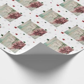 Winter Solstice Joy December Berries Wrapping Paper
