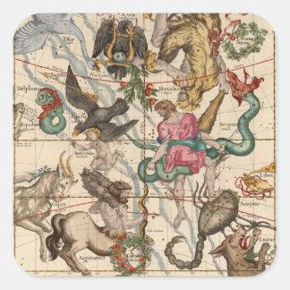 Winter Solstice Square Sticker