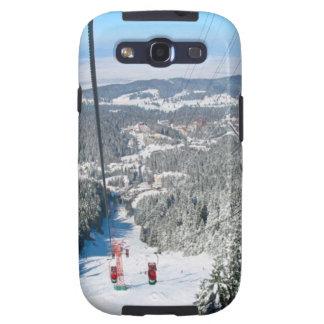 Winter sports in Piana Brasov, Romania Samsung Galaxy S3 Covers