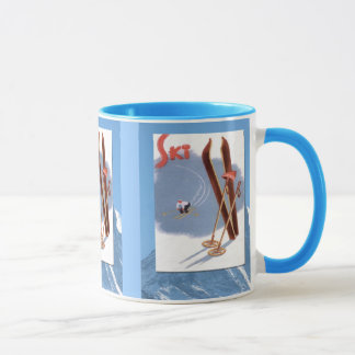 Winter sports - Ski stuff Mug