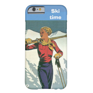 Winter sports - Ski time Barely There iPhone 6 Case
