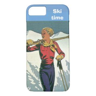 Winter sports - Ski time iPhone 8/7 Case