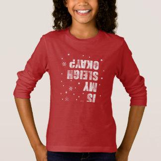 Winter Sports. Sleigh Crash. Funny, Sarcasm, Nerd. T-Shirt