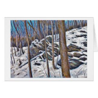 Winter Stones Card