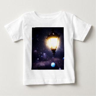 Winter Street Lamp Baby T-Shirt