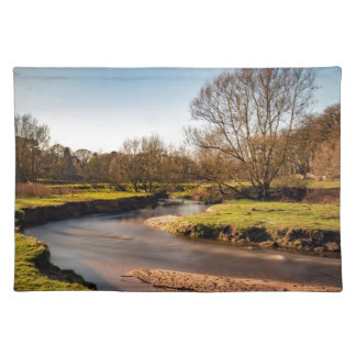 Winter Stroll Along The River Bollin Placemat