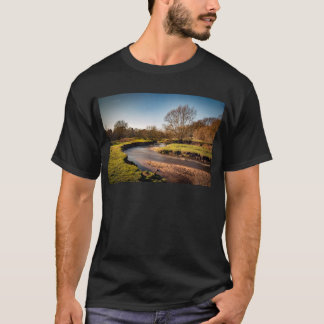 Winter Stroll Along The River Bollin T-Shirt