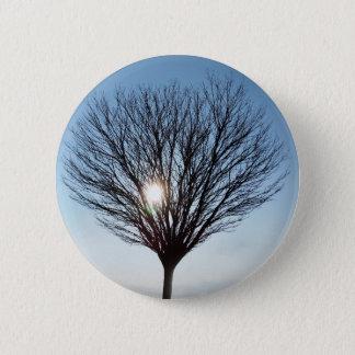 winter sun 2 inch round button
