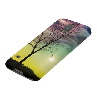 WINTER SUN AND TREE | Samsung Galaxy S5/S4 Cases