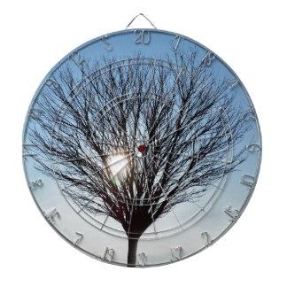 winter sun dartboard