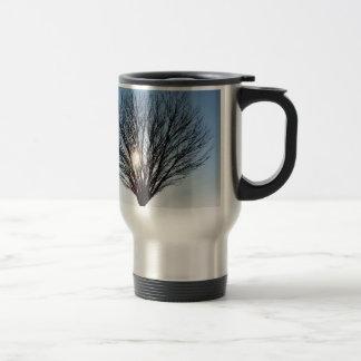 winter sun travel mug