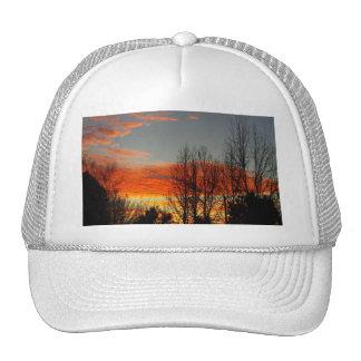 Winter Sunrise Mesh Hat