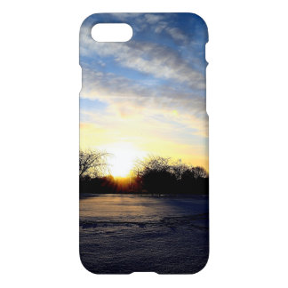 Winter Sunrise iPhone 7 Case