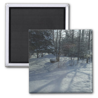 Winter Sunrise Magnet