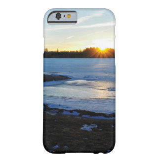 Winter Sunset Barely There iPhone 6 Case