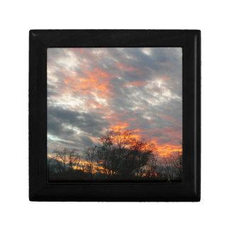 Winter Sunset Gift Box