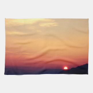Winter Sunset Towels