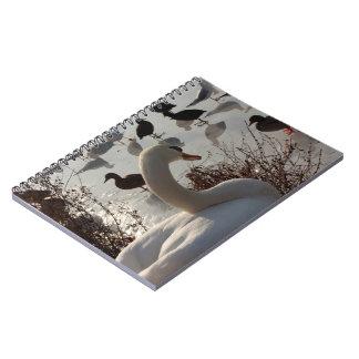 winter swan notebook